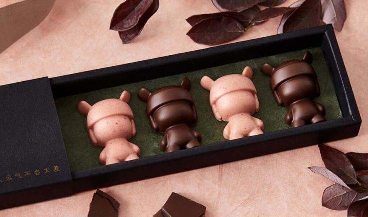 Xiaomi Mi Rabbit Silikonformen Schokolade