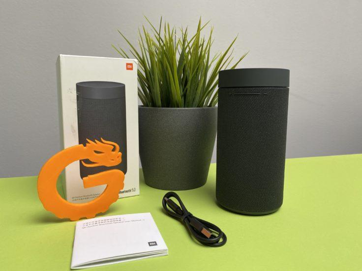 Xiaomi Mi Outdoor Speaker Lieferumfang