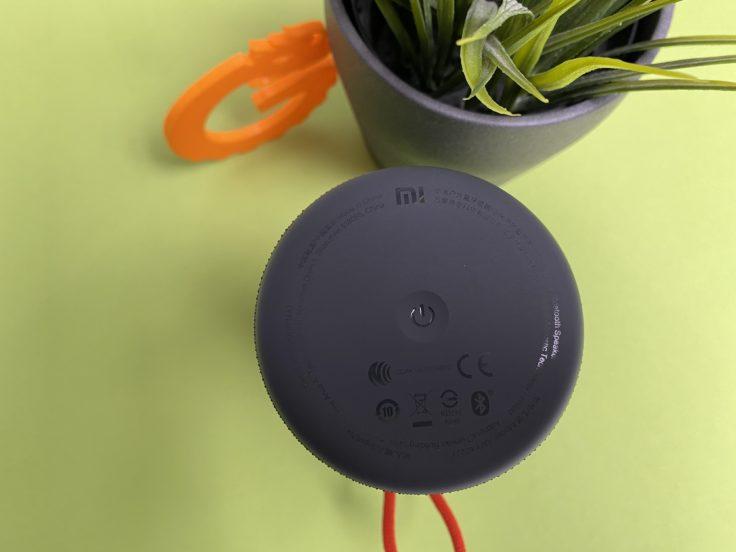 Xioami Mi Outdoor Lautsprecher Unterseite