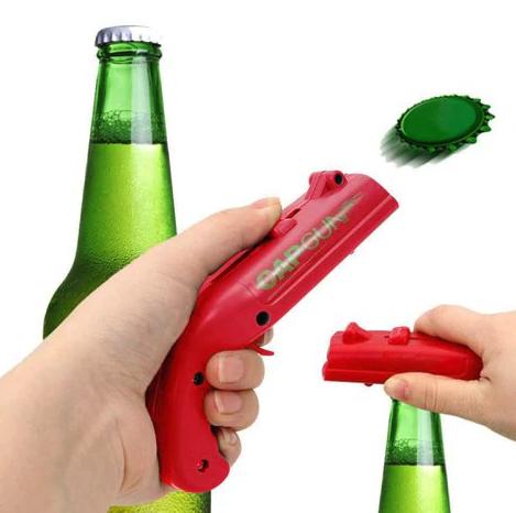 Flaschenöffner Cap Gun