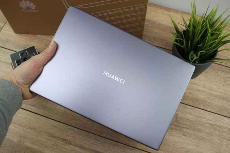 Huawei MateBook D14 AMD 2020 Display Rueckseite