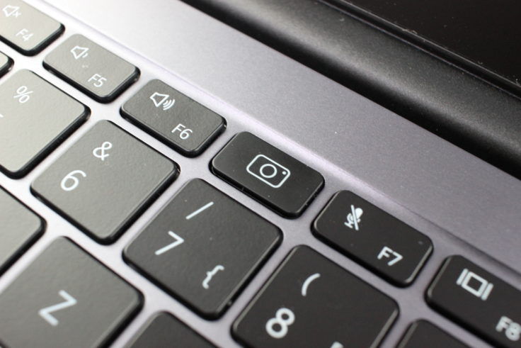 Huawei MateBook D14 AMD 2020 Kamera Tastatur Symbol