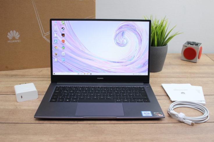 Huawei MateBook D14 AMD 2020 Lieferumfang