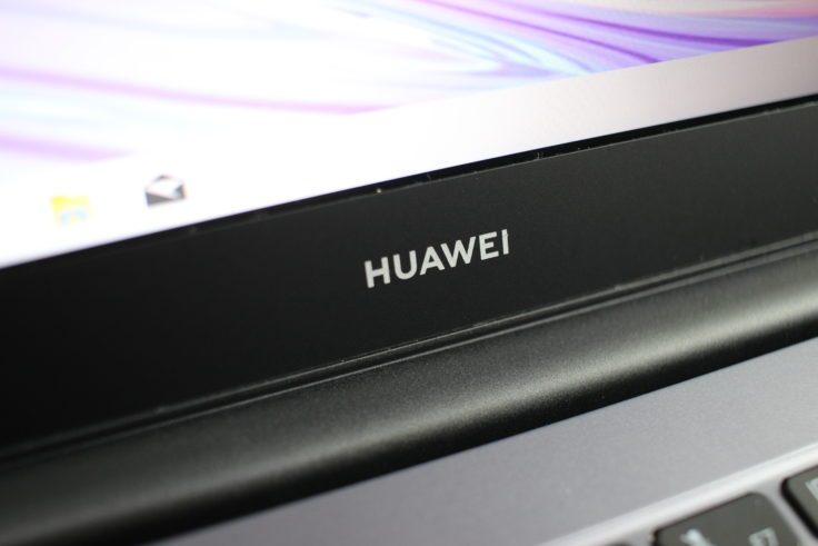 Huawei MateBook D14 AMD 2020 Logo unter Display