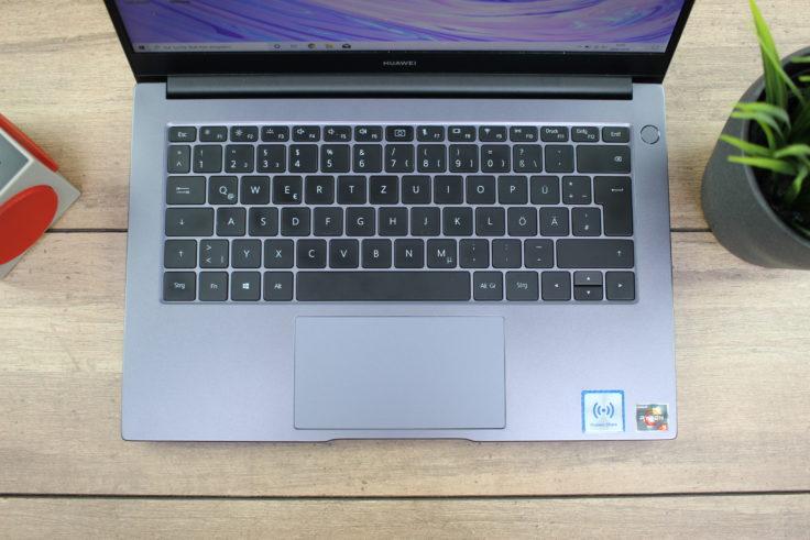 Huawei MateBook D14 AMD 2020 Tastatur
