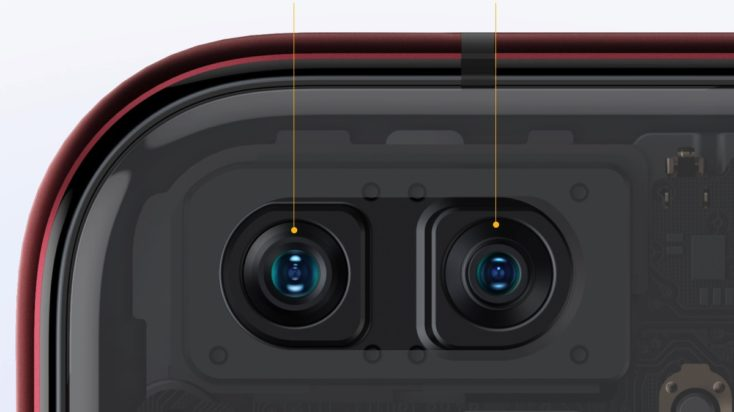 Realme X50 Pro 5G Frontkamera