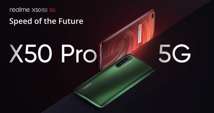Realme X50 Pro 5G Slider
