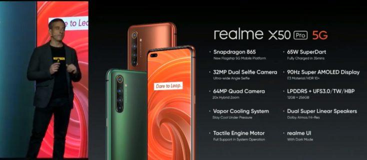 Realme X50 Pro Specs