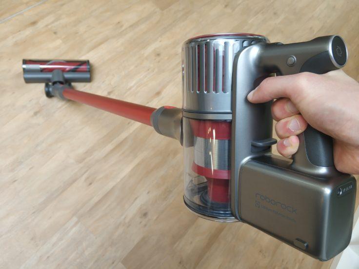 Roborock H6 Akkustaubsauger Arbeitsweise