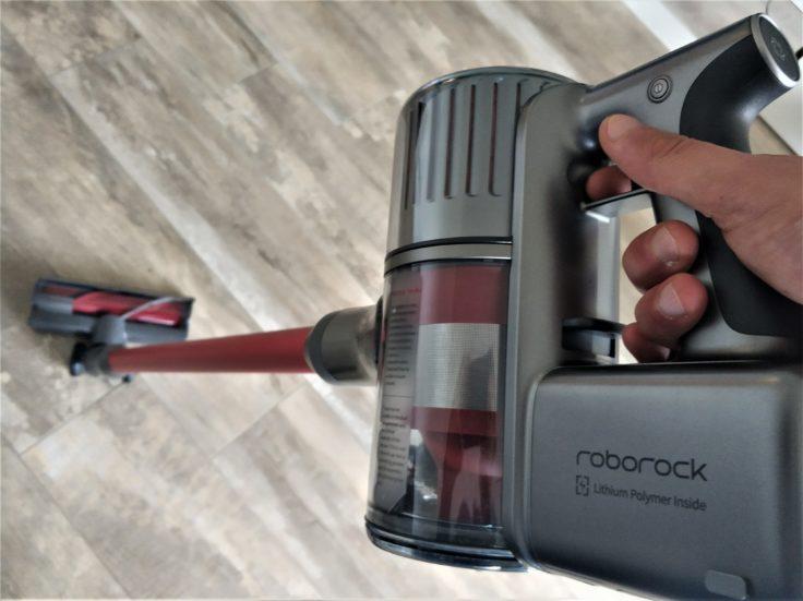 Roborock H6 Akkustaubsauger Handhabung