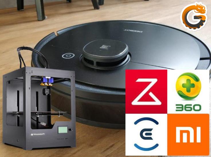 Saugroboter 3D Drucker pimpen tunen verbesserungen Optimierungen