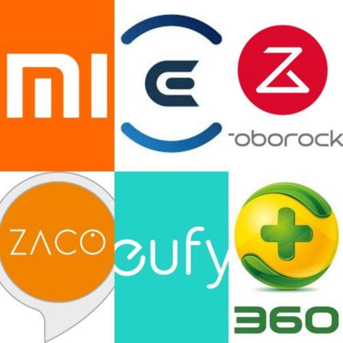 Saugroboter Hersteller Logos Zubehoer alle Marken