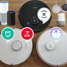 Saugroboter Sprachsteuerung Amazon Alexa Google Assistant Home Skills
