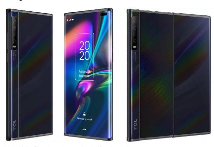 TCL Slide Smartphone Design