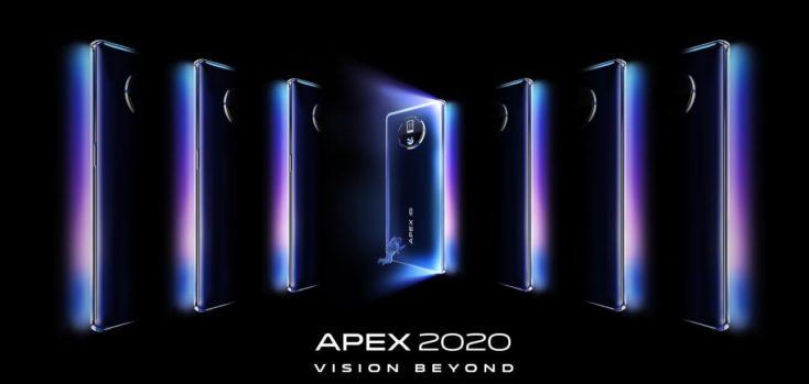 Vivo Apex 2020 Smartphone Design