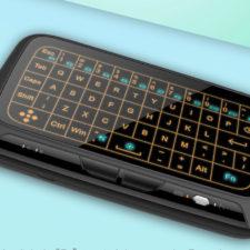 Wireless Touchpad-Tastatur Beleuchtung