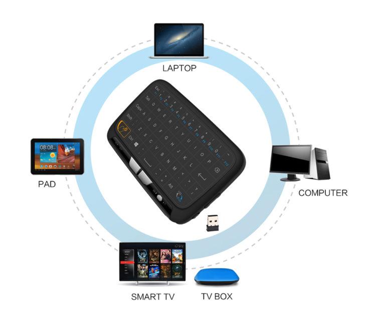 Wireless Touchpad Tastatur Konnektivität