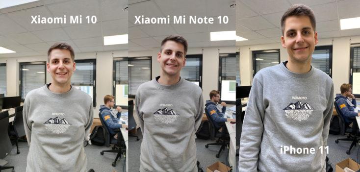 Xiaomi Mi 10 Hauptkamera Testfoto Vergleich