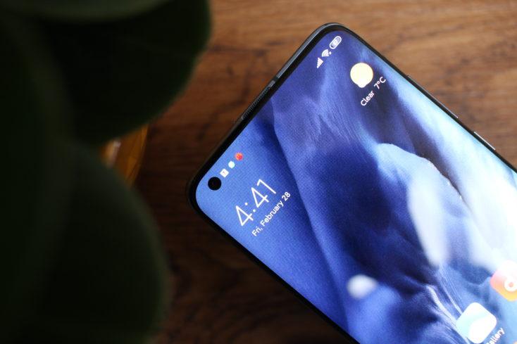Xiaomi Mi 10 Hole-Punch Kamera