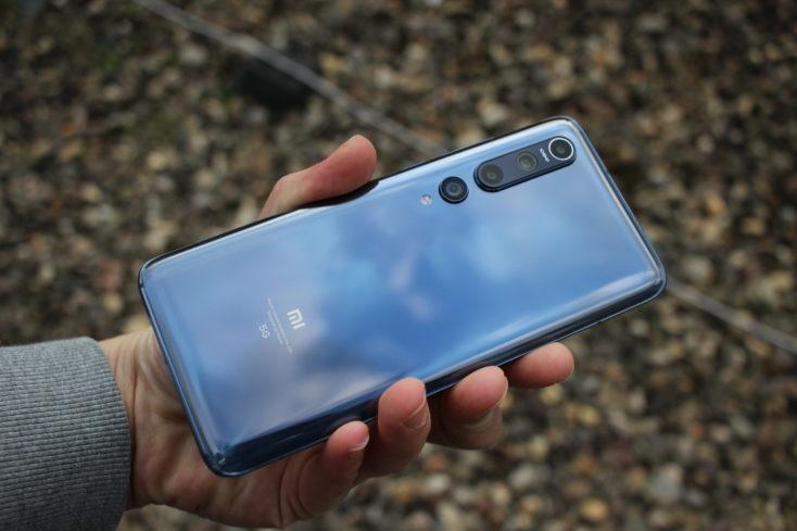 Xiaomi Mi 10 Rueckseite