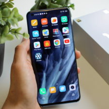 Xiaomi Mi 10 Smartphone in Hand