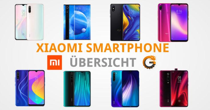 Xiaomi Smartphon Ubersicht Header