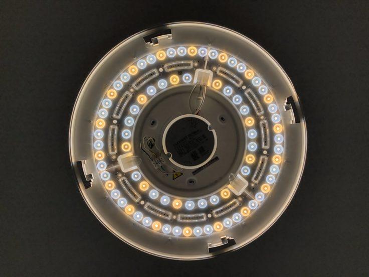 Yeelight YLXD50YL Deckenleuchte Warm  und Kaltweis LEDs