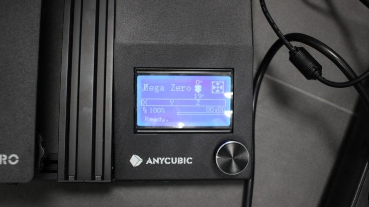 Anycubic Mega Zero Bildschirm