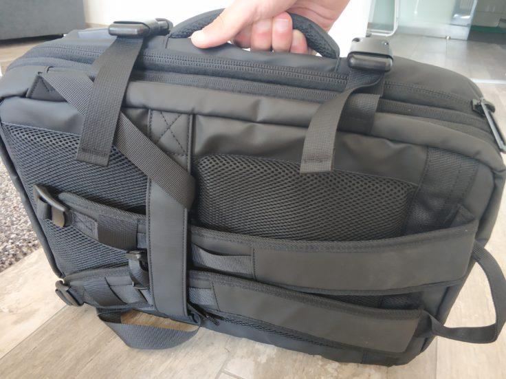 Bange Rucksack als Tasche
