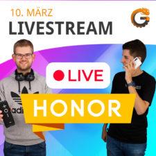 CG Honor Livestream