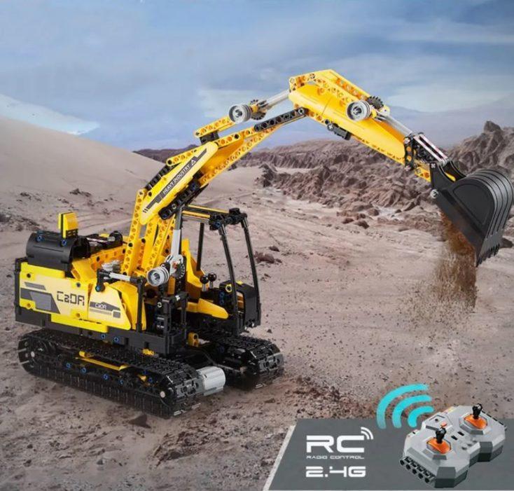 CaDA Roboter Verwandlung Bausatz Klemmbausteine 2