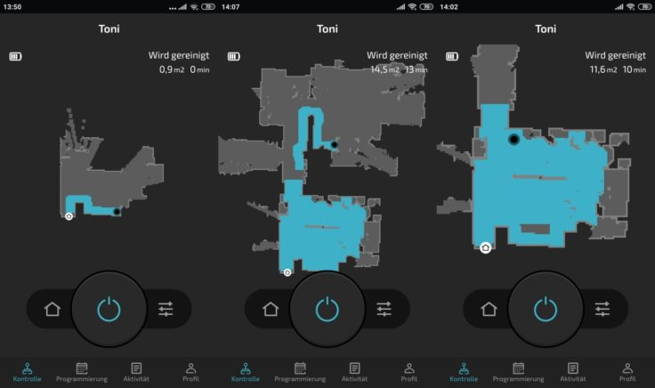 Cecotec Conga 5090 Saugroboter App Mapping