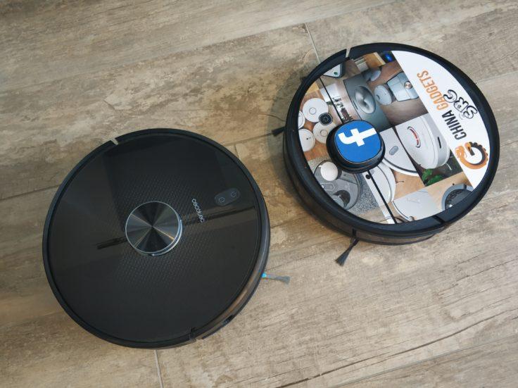 Cecotec Conga 5090 Saugroboter Vergleich Deebot Ozmo 950