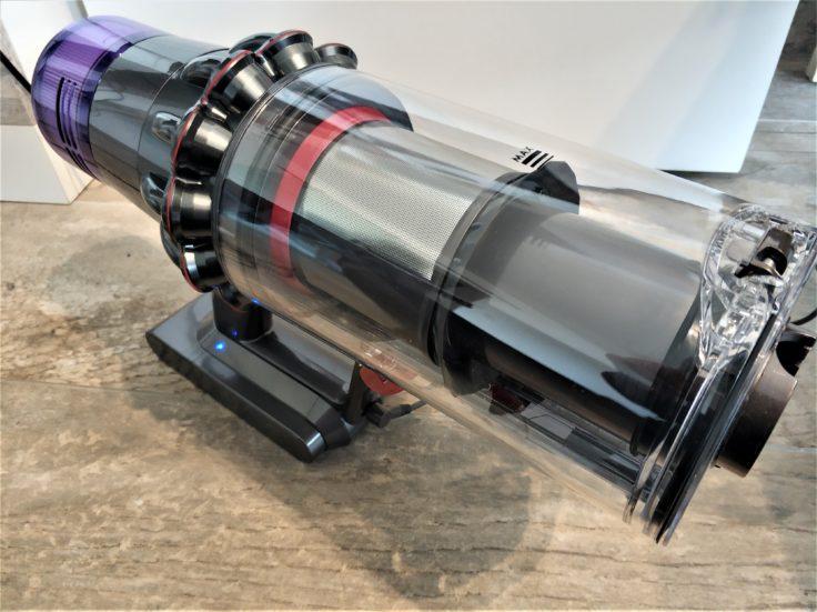 Dyson V11 Absolute Akkustaubsauger Staubkammer