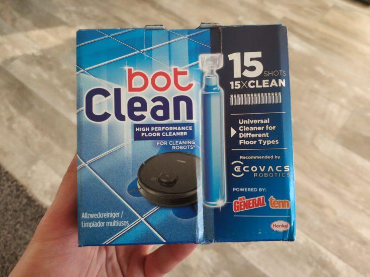 Ecovacs BotClean Henkel Reinigungsmittel Saugroboter