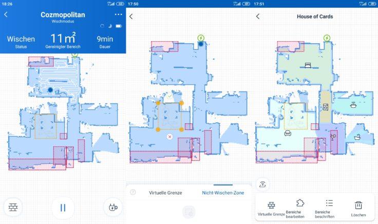 Ecovacs Deebot Ozmo 920 Saugroboter Home App Mapping Vergleich Ozmo 950