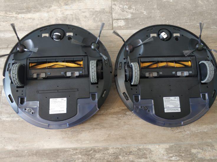 Ecovacs Deebot Ozmo 920 Saugroboter Vergleich 950 Unterseite