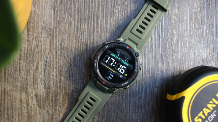 Huami Amazfit T Rex Smartwatch Display
