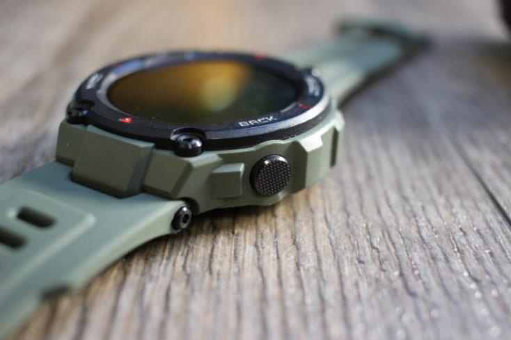 Huami Amazfit T-Rex Smartwatch Funktionstaste