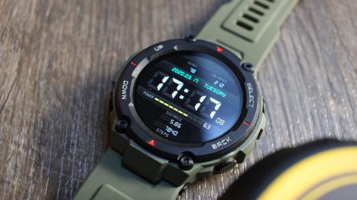 Huami Amazfit T-Rex Smartwatch Verarbeitung