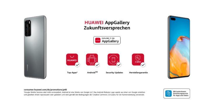 Huawei App Gallery P40