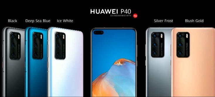 Huawei P40 Farben