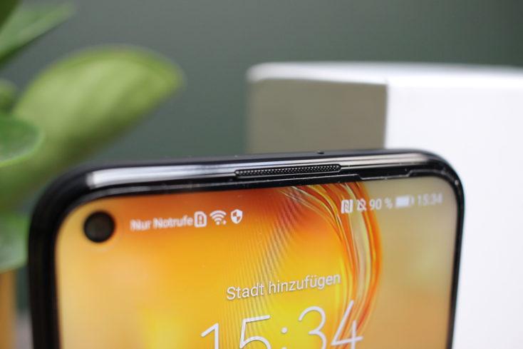 Huawei P40 Lite Bildschirmrand