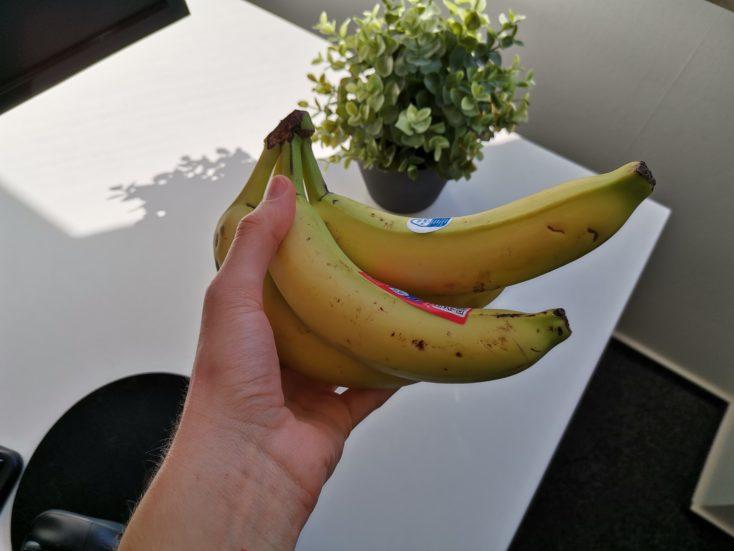 Huawei P40 Lite Hauptkamera Testfoto Banane