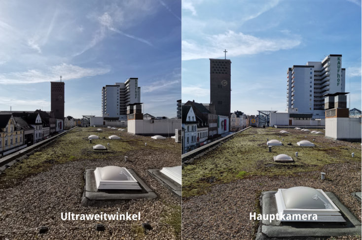 Huawei P40 Lite Ultraweitwinkelkamera