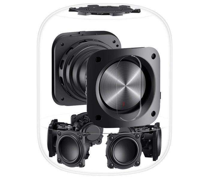 Huawei Sound X verbaute Lautsprecher