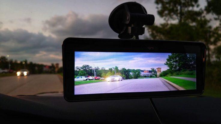 Lanmodo Vast Auto Nachtsichtkamera im Einsatz