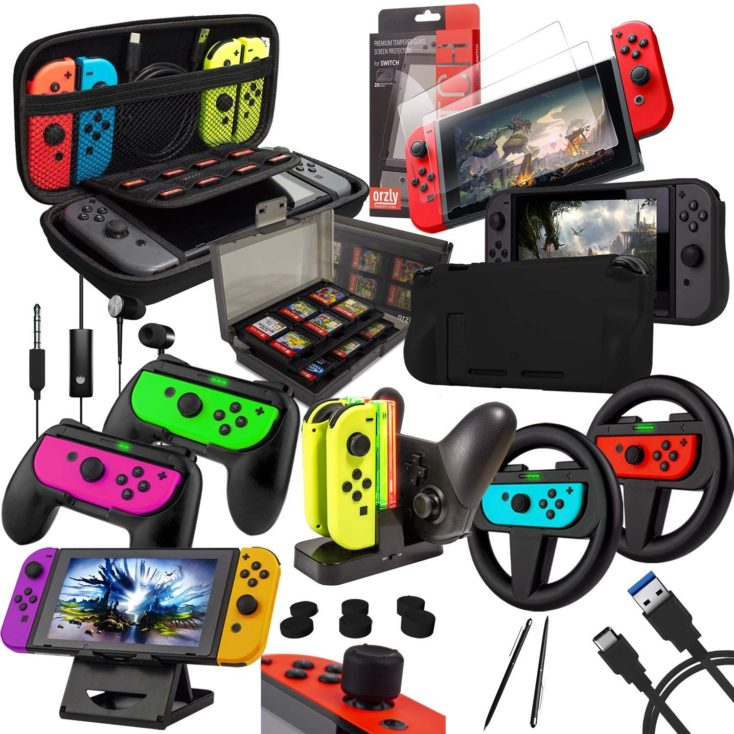 Nintendo Switch Zubehoer Bundle