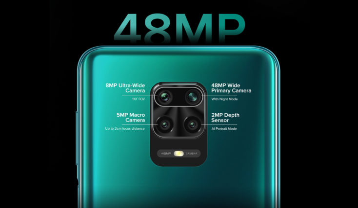 Redmi Note 9S Kamera Specs