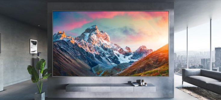 Redmi Smart TV MAX 98 Zoll Wand